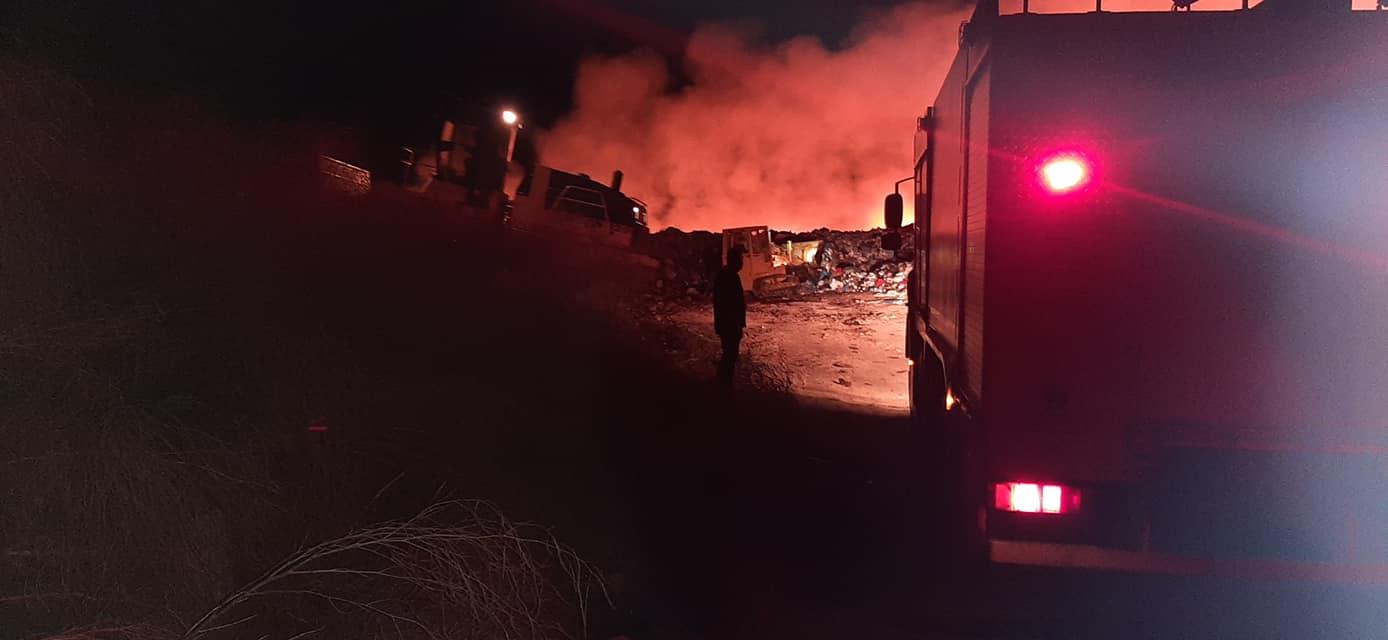 Αργύρης Γαβριελάτος: H ΕΔΑΚΙ θα συνδράμει σε οτιδήποτε χρειαστεί προκειμένου να μην εξαπλωθεί η φωτιά