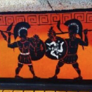 Άρωμα Αρχαίας Ελλάδας στη Σικελία – Ζωγραφίζουν παγκάκια με ήρωες της ελληνικής μυθολογίας