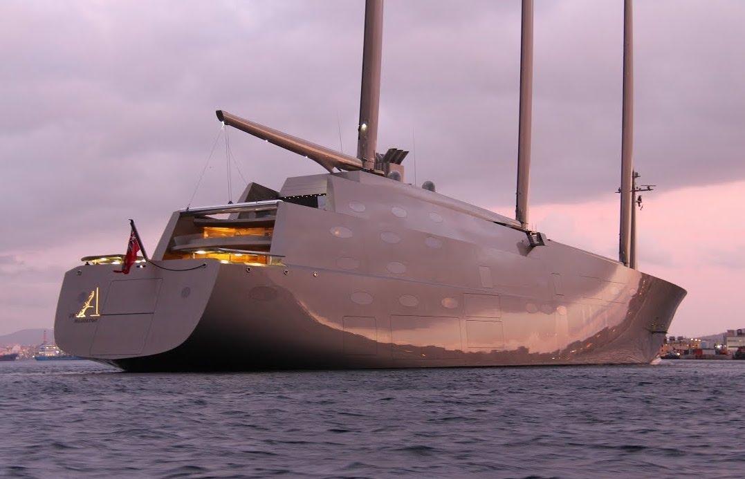 Sailing Yacht A : Το μεγαλύτερο ιστιοφόρο του πλανήτη στη Ζάκυνθο [βίνρεο]