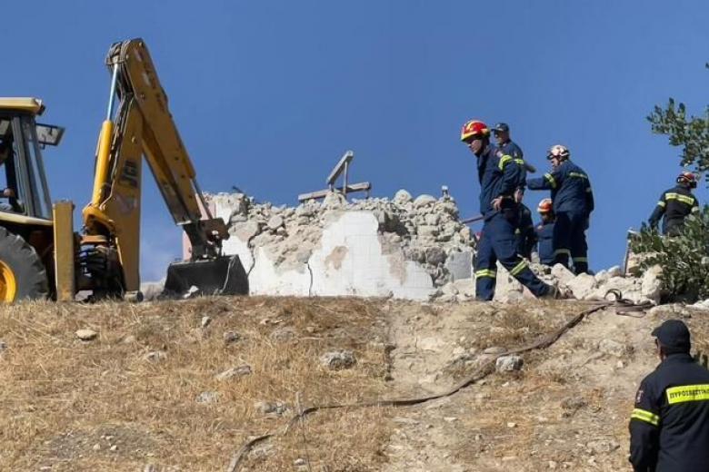 Σεισμός 6 Ρ στο Ηράκλειο: Ένας νεκρός στο Αρκαλοχώρι – Μεγάλες ζημιές σε κτίρια