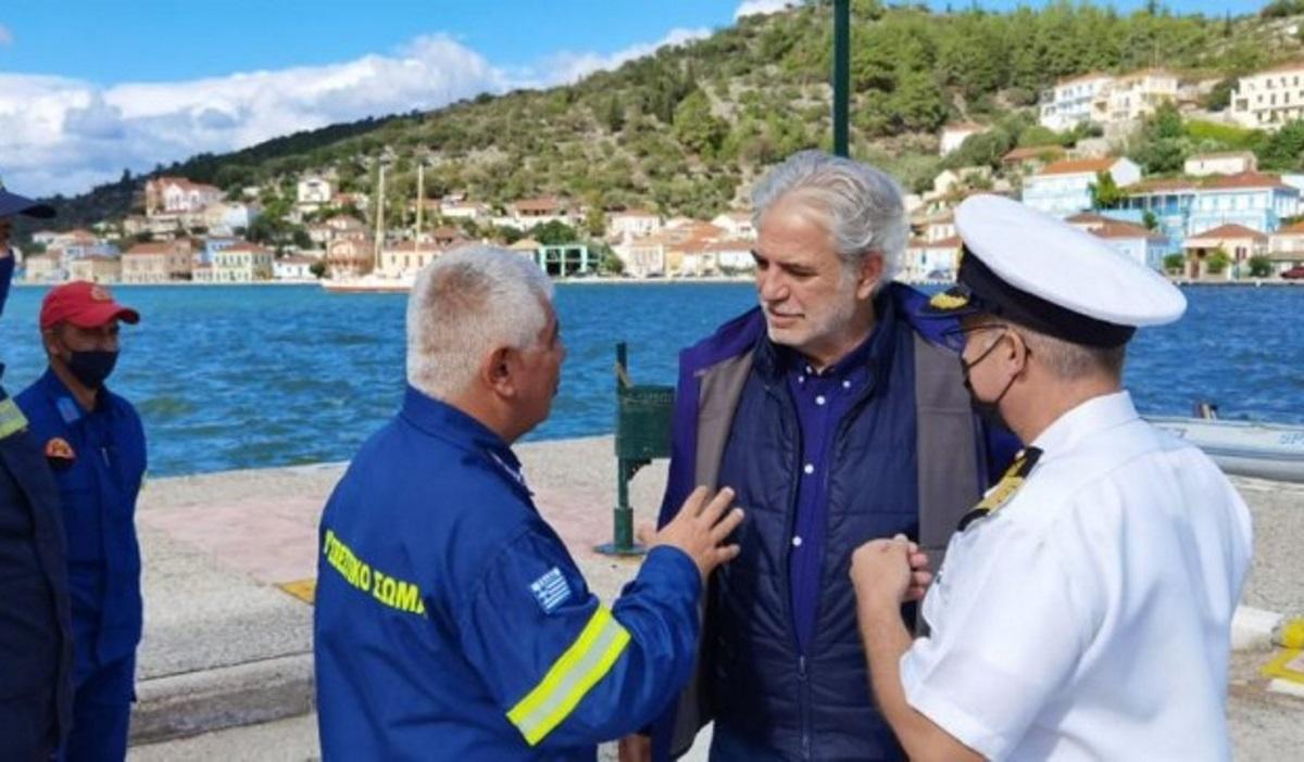 Χρήστος Στυλιανίδης από Ιθάκη: Με εντολή Πρωθυπουργού, άμεση η αποκατάσταση των ζημιών στο νησί