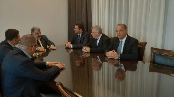 Επίσκεψη αντιπροσωπείας του Δήμου Σάμπαντς στο Αργοστόλι [εικόνες]