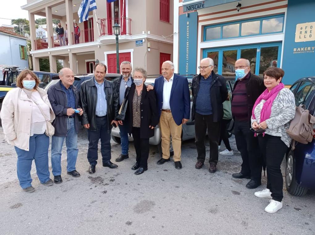 ΣΥΡΙΖΑ: Στην Ιθάκη ο Χρήστος Σπίρτζης για την εκτίμηση των ζημιών [εικόνες]